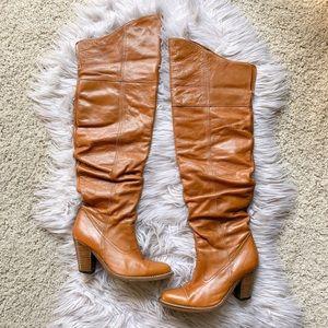 Jeffrey Campbell Fame OTK Western Heeled Boots 8